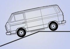 VW mit Kassettenlifter